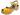 Puukengät Butterfly Keltainen 5 cm